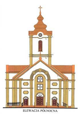 Wizualizacja kościoła