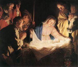 Gerard van Honthorst - Adoration of the Shepherds - Public Domain - źródło: Wikipedia